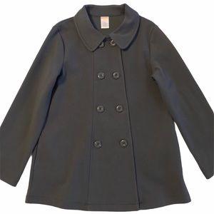GYMBOREE Pea Coat Jacket double Breasted Gray